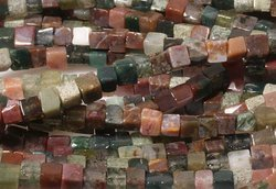 Kamienie Jaspis Fancy 7691kp 4mm 1sznur