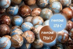 Kamienie Jaspis Impression 5642kp 8mm 1sznur