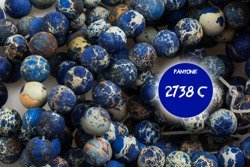Kamienie Jaspis Impression 5996kp 6mm 1sznur