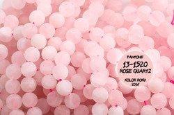 Kamienie Kwarc różowy 5400kp 10mm 1sznur