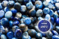 Kamienie Lapis Lazuli 7456kp 10x8mm 1sznur