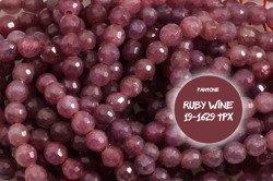 Kamienie Szlachetne Rubin 6315kp 3.5mm 1sznur