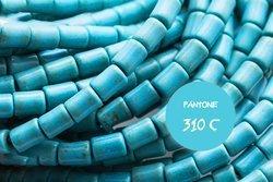 Kamienie Turkus syntetyczny 7380kp 5x3mm 1sznur