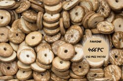 Koraliki drewniane 22kk 15mm 10sztuk