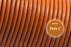 Rzemień skórzany #008 2.5mm 1m