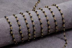 Spinel na łańcuszku srebrnym 1000kp 3mm 20cm