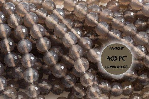 Kamienie Agat szary 2407kp 8mm 1szt.