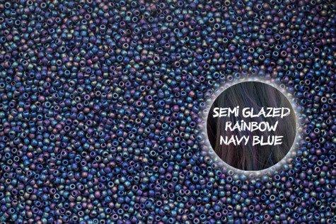 TOHO TR-11-2637F Semi Glazed Rain.Navy Blue100g