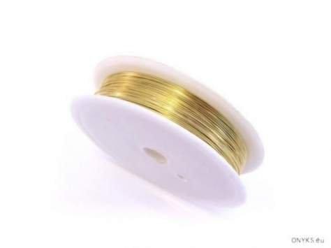Drucik miedziany złocony 0.2d 10rolek