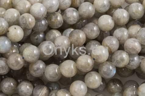 Kamienie Labradoryt B4797kp 8mm 1sznur