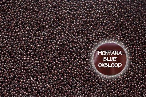 TOHO TR-11-363 Montana Blue/Oxblood 10g