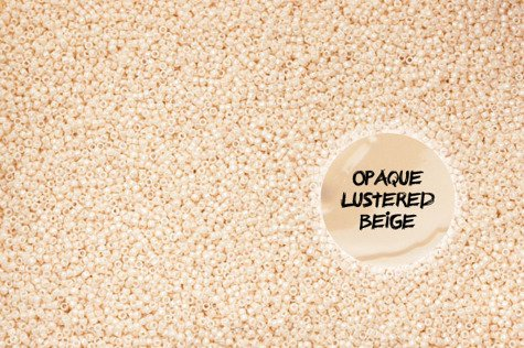 TR-08-123 Opaque-Lustered Lt Beige 10g